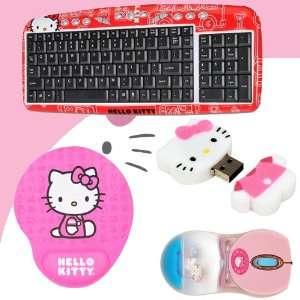 Hot Keys #90309 RED (Red) + Hello Kitty Bathtub Liquid Mouse #81409