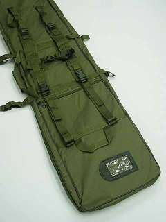 40 SWAT Dual Tactical Rifle Carrying Case Gun Bag OD