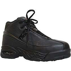 Iron Age Leather Hi top Athletic Steel toe Shoes