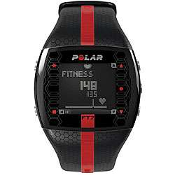 Polar Mens FT7MR Black/ Red Heart Rate Monitor