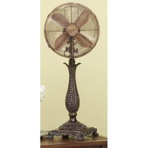 Roccoco Decorative Table Top Fan Heating, Cooling, & Air Quality