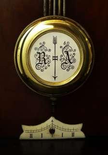 Beautiful Antique German Junghans wall clock at 1900, RA pendulum