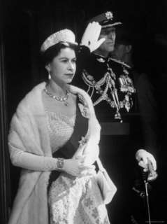 Queen Elizabeth and Prince Philip, at the Opening of the Canadian