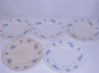 ANTIQUE CHELSEA ENGLISH DINNER PLATES SIDE PLATES CUPS & SAUCERS 15
