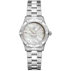 Tag Heuer Aquaracer Womens Mother of Pearl Watch