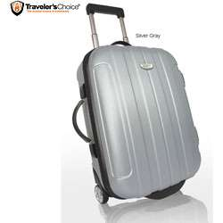Travelers Choice Rome 20 inch Hardside Carry On Upright Today $43