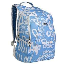 Ogio Shifter Girls Blue Script Laptop Backpack