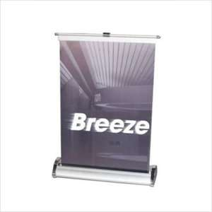 Orbus Inc. Breeze Retractable Tabletop Banner Stand