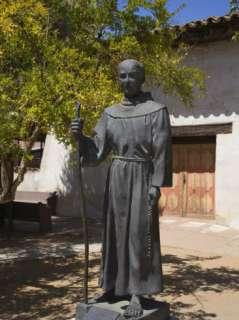Father Junipero Serra Statue, Mission San Miguel Arcangel, San Miguel