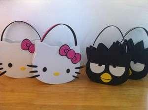 Hello Kitty badtz maru Keroppi Party Birthday Buckets / Treat Bags