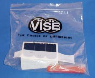 VISE 1 Smooth Black Bowling Ball Thumb Tape 100 pc