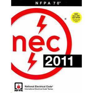 National Electrical Code, NFPA (National Fire Prevention