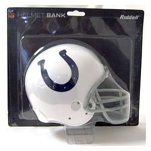Indianapolis Colts NFL Helmet Bank