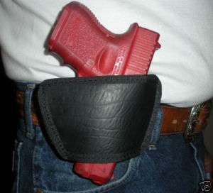 Leather Slide Belt Gun Pistol Holster Ambidextrous New