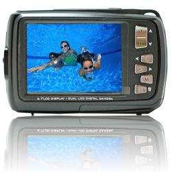 5500 Black 18 MP Dual Screen Waterproof Digital Camera