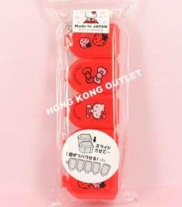 Hello Kitty Pill Box Pills Storage Case x5 Sanrio G28b