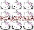 50Pcs hello kitty head Lovely Charm Metal Pendant jewelry Make