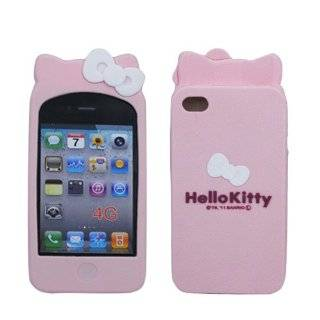 Sanrio Hello Kitty iPhone 4 Soft Cover with Ears (Pink