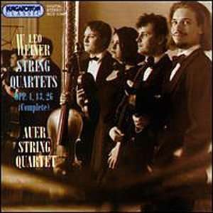 )   Auer String Quartet Leo Weiner, Auer String Quartet Music