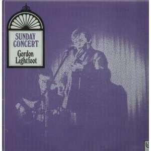 CONCERT LP (VINYL) UK UNITED ARTISTS 1969 GORDON LIGHTFOOT Music