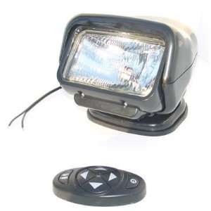 12 volt remote control flood light with dash mount remote control