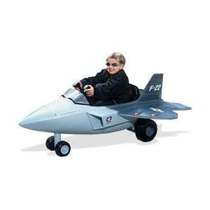 Battery Operated F 22 Raptor Fighter Jet Sports