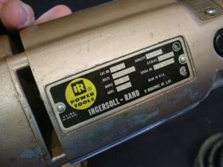 INGERSOLL RAND NIBBLER POWER SHEAR TOOL MODEL B W/ BOX