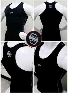 Mens Compression base layer tight Tank Top sports shirt