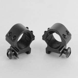 inch Heavy Duty low Profile Scope Rings 20mm Weaver Rail