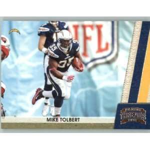 2011 Panini Threads #122 Mike Tolbert   San Diego Chargers