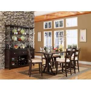 Del Ray Counter Height Dining Room Set   Pulaski Furniture