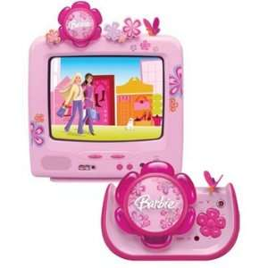 Emerson Barbie Blossom 13 TV and DVD Player: Everything