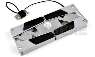 Laptop Notebook USB Fan LED Cooling Cooler Pad Foldable
