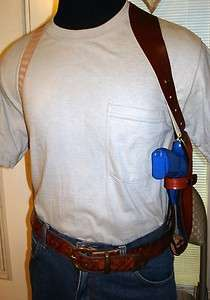 LEATHER SHOULDER HOLSTER 4 TAURUS PT 92 99 100 101