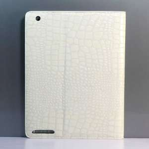 Alligator Print PU Leather CASE COVER/Flip Stand Case FOR IPAD 2 +Free