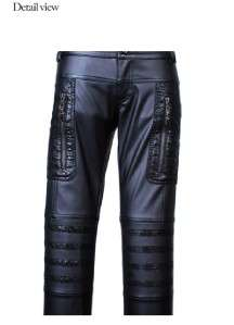 Leather Kera VISUAL KEI PUNK GOTHIC Pants   P K 103