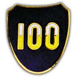 U.S. Army 100th Infantry Division Pin 1 Arts, Crafts