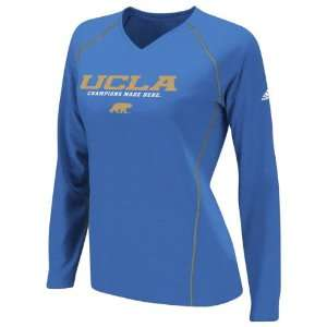 UCLA Bruins Womens Blue adidas 2012 Football Sideline Graphic