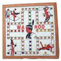 Original WA HOO Creative Idea Wood Board Game WAHOO Indian Princess