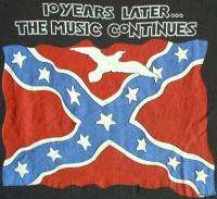 LYNYRD SKYNYRD Vintage Concert SHIRT 80s TOUR T RARE ORIGINAL Tribute