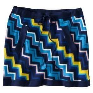 Missoni for Target Womens Zig Zag Chevron Blue Sweater