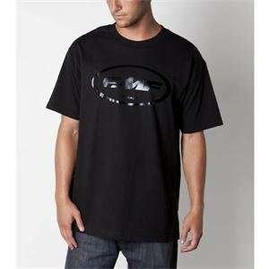 FMF Apparel Oil Slick T Shirt   Large/Black Automotive
