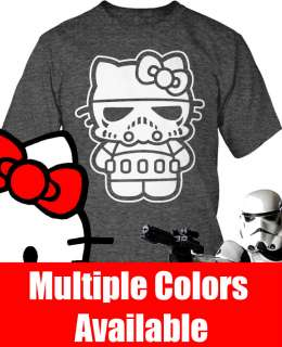 Hello Kitty Stormtrooper Combo Shirt S 2X w/FS NEW Hello Stormtrooper