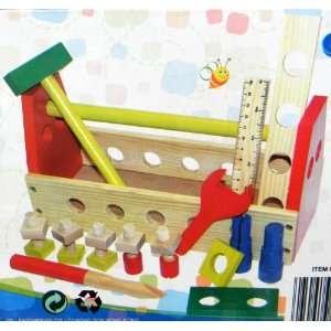 Full Base Union Wooden Tool Box Set Toys & Games