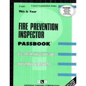 Fire Prevention Inspector (Career Examination Passbooks