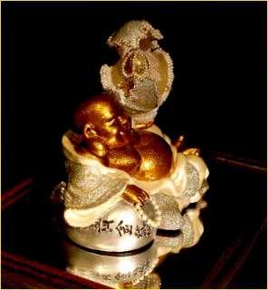 OOAK Enameled Egg Art Collectible BUDDAH EGSTASY Faberge Type