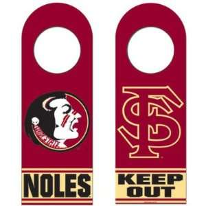 Florida State Seminoles Official Logo Wood Door Hanger