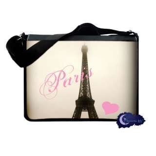 Love Eiffel Tower Messenger & Laptop Bag   Paris, France