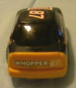 BURGER KING CARTOON NETWORK 1997 WACKY RACING CAR TOY is in VERY GOOD