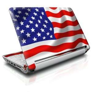 USA Flag Design Skin Cover Decal Sticker for the Acer